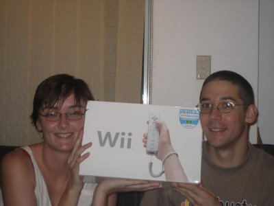 Mary, Andrew and their Nintendo Wii